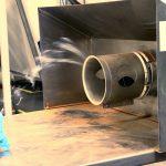 Visualisation flux d'air au captage par fumigene